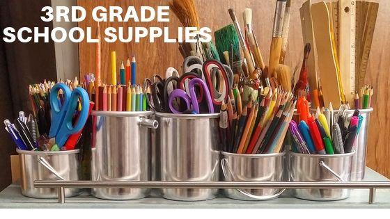 3rd Grade School Supplies